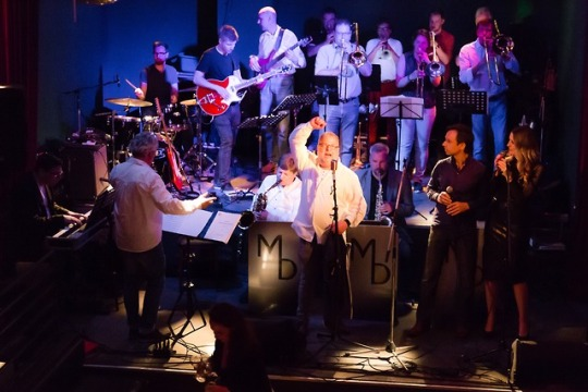 Überraschungs-Gig mit der Marvin Dorfler Big Band. Großer Spaß!!!