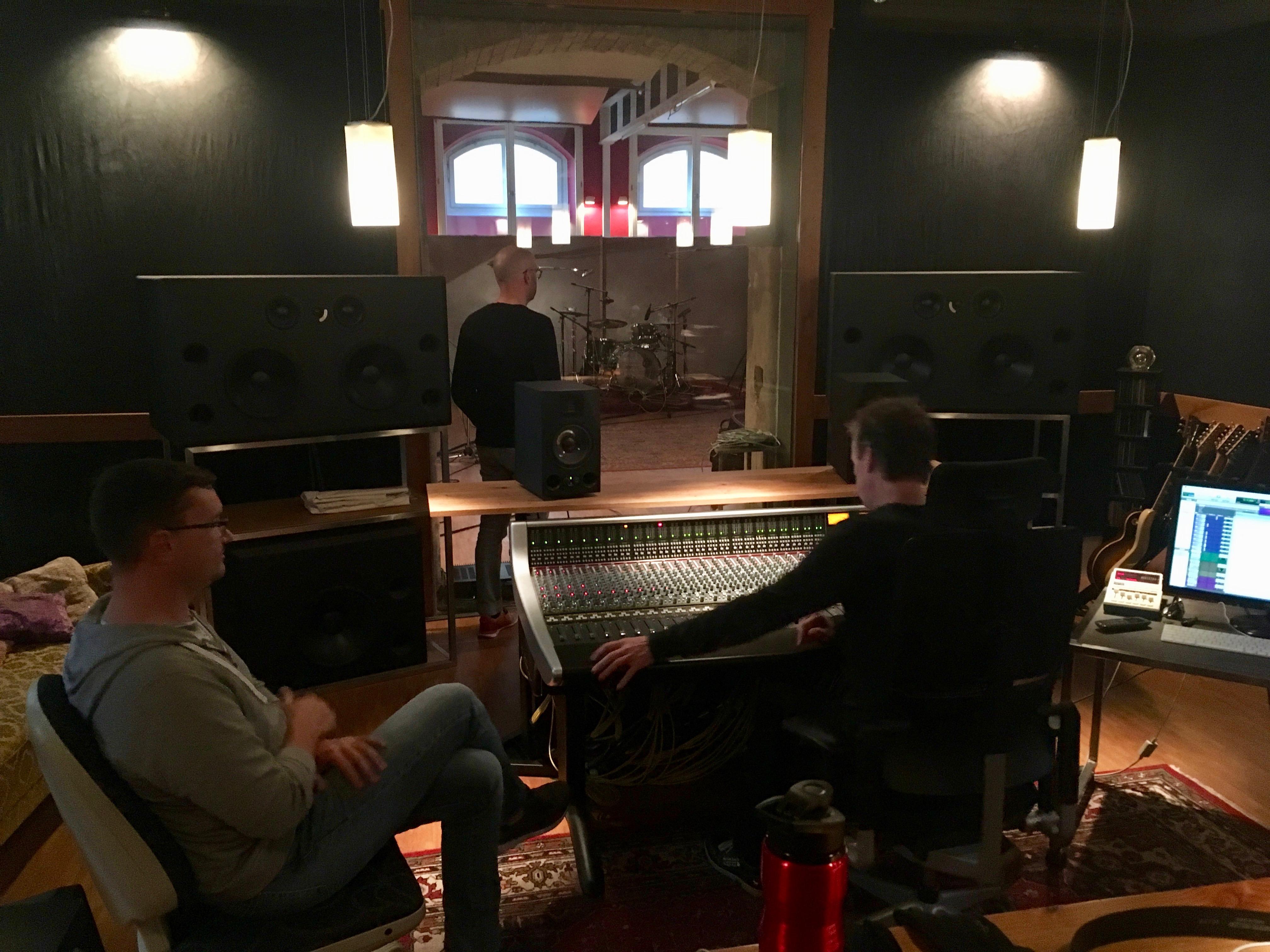 Recording Session im Neuwerk Studio
